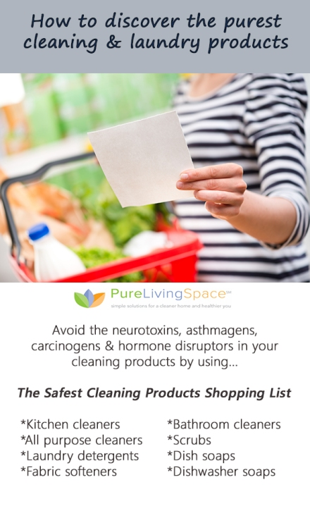 The Safest Cleaning Product Shopping List